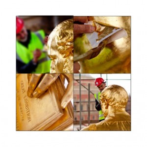 Prince Albert Memorial Gilding restoration