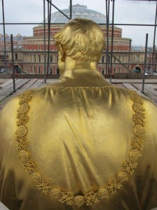 Prince Albert Memorial back view